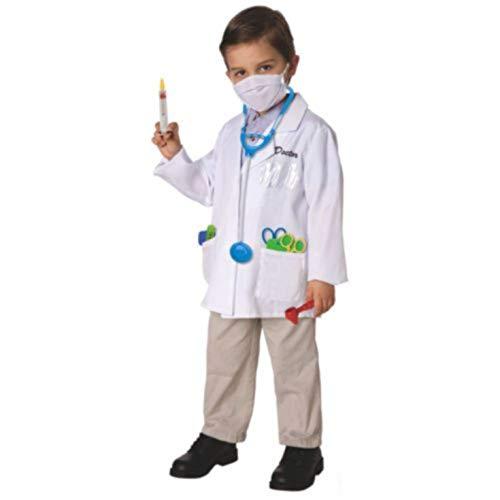 Toy Island Boys Child Doctor Costume, Size 8-10 ()