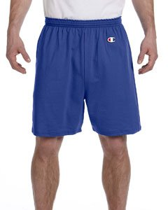 Champion Men's  6-Inch Royal Blue   Cotton Jersey Shorts - Large ()