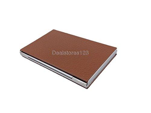steel Dealstores123 pu Card Dealstores123 only Business Wallet Sold Holder 18 by 5UznBzv0q