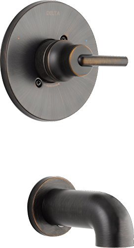 (Delta Faucet T14159-RB Trinsic Tub Only Trim (Rough Sold Separately), Venetian Bronze)
