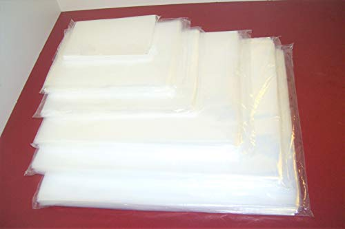 ULINE - 100 Clear 13 x 18 Poly Bags Plastic Lay Flat Open TOP Packing ULINE Best 2 MIL (Bags Top Open Poly)