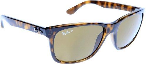 Ray Ban RB4181 Highstreet Sunglasses - 710/83 Tortoise (Polarized Brown Classic B-15XLT Lens) - ()