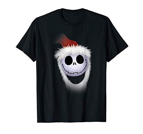 Disney Nightmare Before Christmas Jack Santa T-shirt