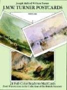 Watercolor Turner William (J. M. W. Turner Postcards: 24 Full-Color Ready-to-Mail Cards from Watercolors in the Collection of the British Museum (Card Books))