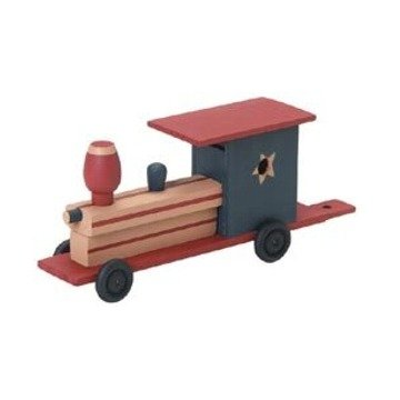Unfinished Train Wood Craft Kit (Unfinished When Fully Assembled) Wooden Model Company