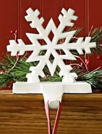 Park Designs Snowflake White Stocking Holder (22-855A) by Park Designs (Image #2)