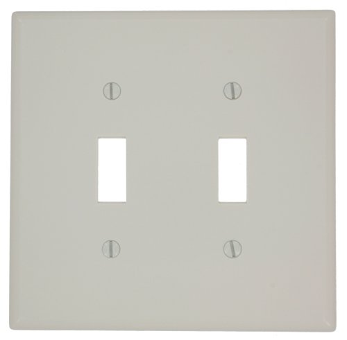 Double Mid-Way Switch Wall Plate