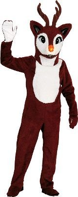 Blinking Red Nose Reindeer - Standard - Chest Size 44