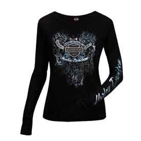 Harley Davidson T Shirts Women'S - 6