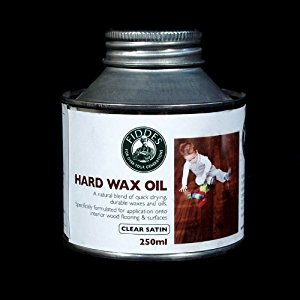 Fiddes Hard Wax Wood Oil Clear Satin 250ml