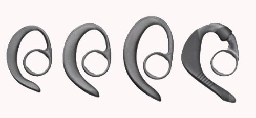 Plantronics (64394-11) Set of 4 Spare Extra Comfort Ear Loops / Hooks for CS55, CS50 and CS50-USB (Usb Plantronics Cs55)