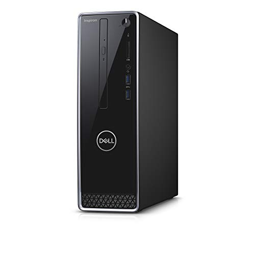 Dell Inspiron 3470 Desktop, 2 Year Onsite Warranty, Windows 10 Pro, 9th Gen Intel Core i5-9400 6-Core 4.1GHz Proc w/Intel Turbo Boost Technology, 12GB DDR4 2666MHz RAM, 1TB HDD+128Gb SATA SSD, DVD RW from Dell