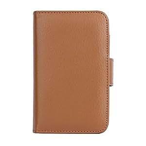 ZXM- la caja de cáscara protectora especial con soporte con ranura de la tarjeta para el iphone 5 (colores surtidos) , marrón