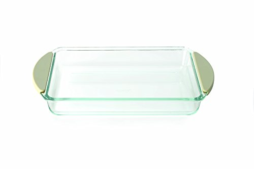 BergHOFF Studio Borosilicate Glass Baking Dish, Large, Clear