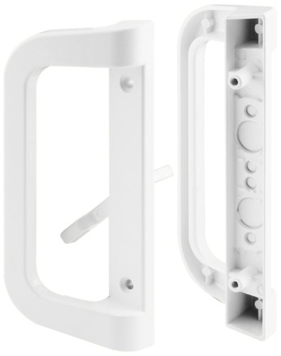 Slide-Co 142263 Sliding Door Handle Set, White