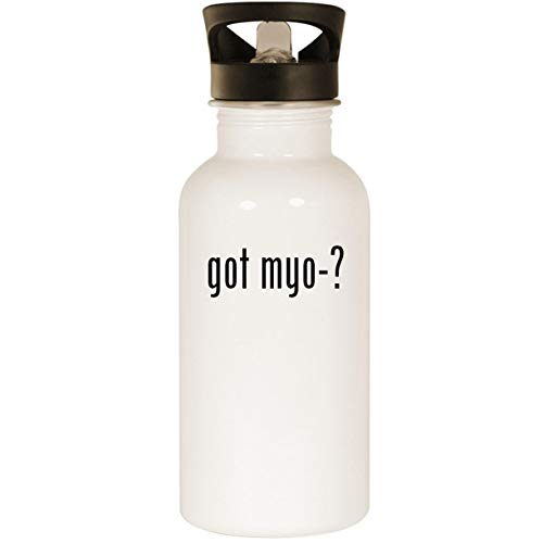 2 Headlamp Rxp Myo - got myo-? - Stainless Steel 20oz Road Ready Water Bottle, White