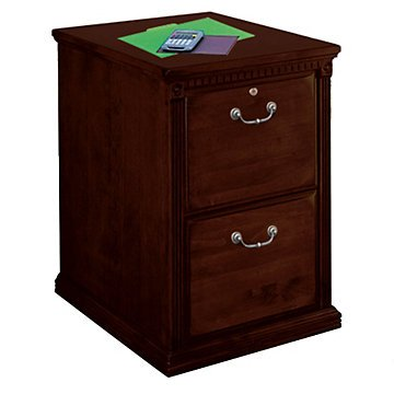 Huntington Cherry Two Drawer Vertical File - 21'' W