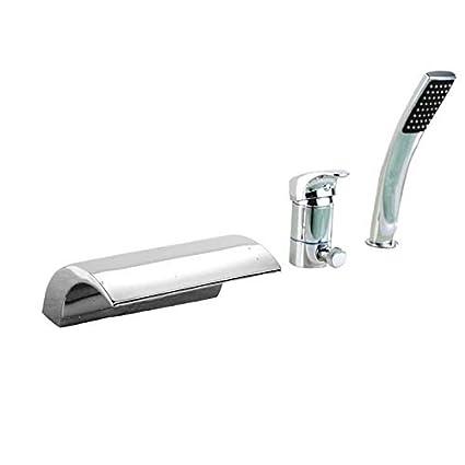 Sumerain S2096cw Single Handle Deck Mount Bath Tub Faucet Chrome