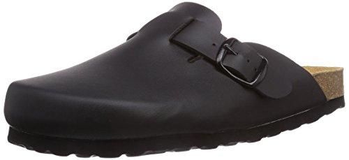 Lico BIOLINE CLOG, Unisex-Erwachsene Pantoffeln, Schwarz (SCHWARZ), 45 EU (11 Erwachsene UK)