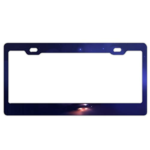 Elvira Jasper Happy Halloween Cat License Plate Frame -