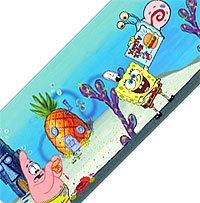 [Spongebob Squarepants peel & stick WALLPAPER BORDER] (Spongebob Wall Border)