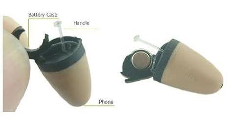 Amazon.com: New Spy Earpiece Bluetooth Invisible Micro Earphone Mini Wireless Covert Hidden Earpiece: Cell Phones & Accessories