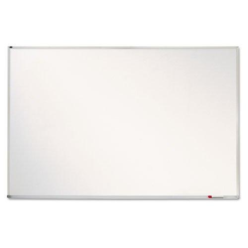 Quartet Magnetic Whiteboard, Porcelain, White Board, Dry Erase Board, 4' x 6', Aluminum Frame (PPA406)