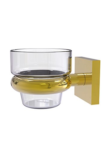 Allied Brass Montero Collection Wall Mounted Votive Candle Holder - MT-64-PB - Polished Brass