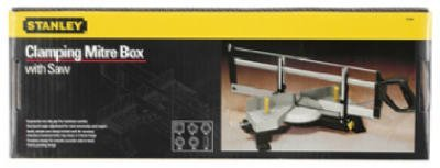 076174208009 - Stanley Hand Tools 20-800 Clamping Miter Box With Saw carousel main 0
