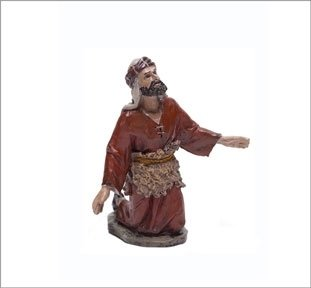 Christmas Nativity Figurine - J.L. Mayo -Shepherd of the Annunciation 2–Series 11cms BEL048 Triciclo Editores