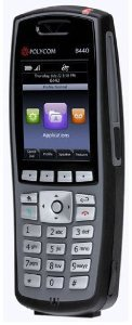 Polycom Black Box Resale Services SpectraLink 8440 Handset,Black 2200-37150-001 Dynamic Handset
