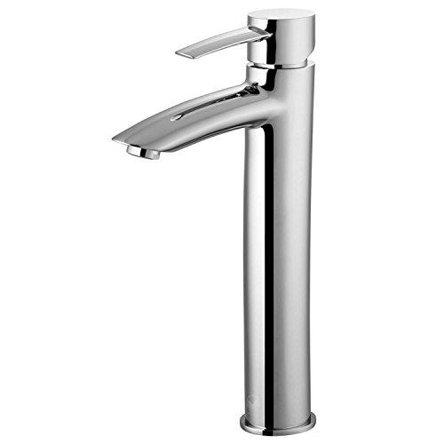 VIGO Shadow Single Lever Vessel Bathroom Faucet, Chrome by VIGO