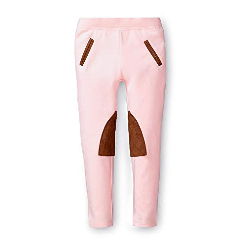 (Hope & Henry Girls' Ponte Riding Pants Light Pink)