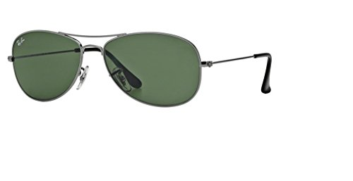 Ray Ban RB3362 004 56M Gunmetal/Crystal - Cockpit Gunmetal Aviator Sunglasses