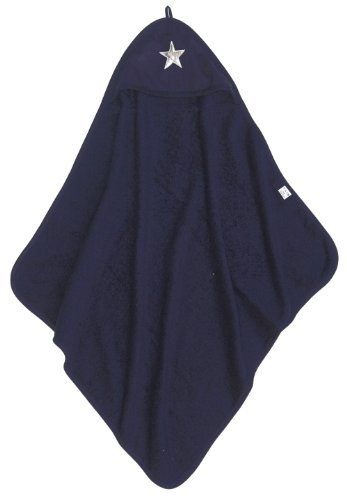 Taftan Star Silver Hooded Towel 75 x 75cm (Dark Blue) by Taftan by Taftan