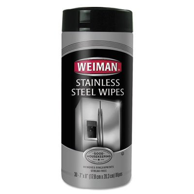 WMN92 UNITED STATIONERS (OP) WIPES,STAINLESS STL,30CT (Stainless Stl)