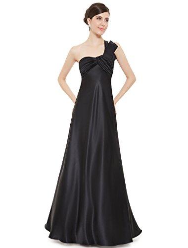 Ever-Pretty HE09667RD08 - Vestido para mujer Negro