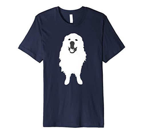 Great Pyrenees Dog Smiling T-Shirt