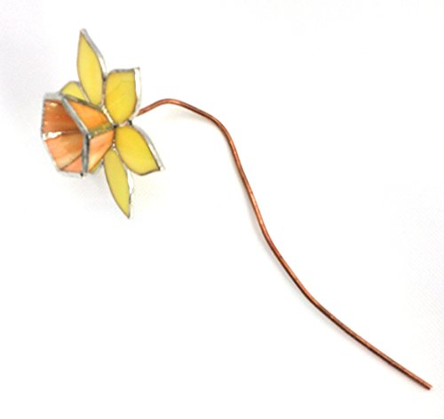 Stained Glass Daffodil (Yellow & Orange) - Stained Glass Daffodil