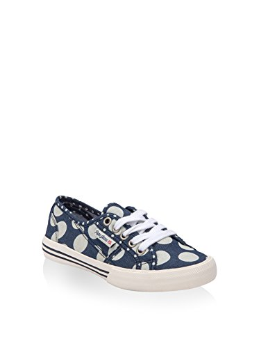 Basses Jeans Blau Sneakers Lunar Fille Baker Mehrfarbig Pepe PIv7qwdWd