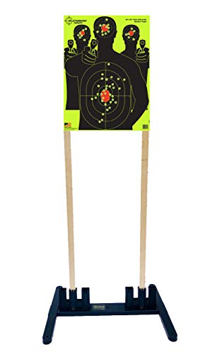 Splatterburst Targets - Multi - Width Polymer Target Stand - Excellent for All 6-24 Inch Wide Targets