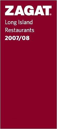 Book Zagat 2007/08 Long Island Restaurants (Zagatsurvey)