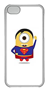 iPhone 5C Case, iPhone 5C Cases - Anti-Scratch Crystal Clear Hard Back Case for iPhone 5C Despicable Me 12 Shock-Absorption Hard Back Bumper Case for iPhone 5C