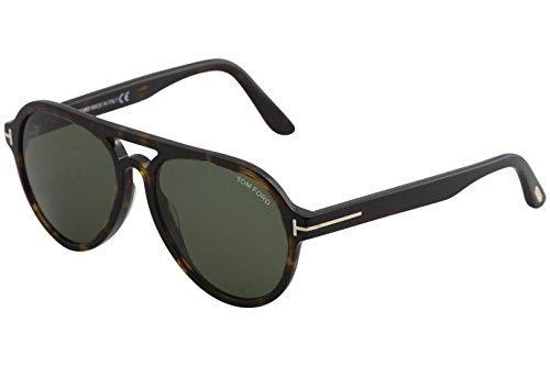 Sonnenbrille Ford Havanna Dunkel FT0596 Tom qXH5x