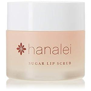 Hanalei Sugar Lip Scrub Exfoliator: Dry Lip Care Made with Hawaiian Raw Cane Sugar, Hawaiian Kukui Nut Oil and Shea…