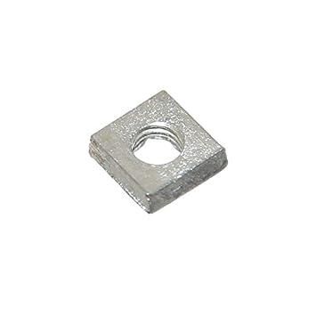 Häufig Joy-Button 10x Mini 4-Kant Mutter M3 für Nut Modellbau Muttern XN22