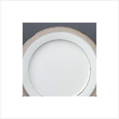 Noritake Crestwood Platinum Salad Plate by Noritake (Platinum Salad Crestwood Noritake Plate)