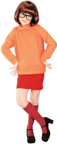 Inexpensive Costumes (Velma Childs Costume from Scooby Doo)