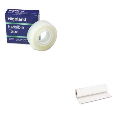 KITMMM6200341296PAC101208 - Value Kit - Pacon Decorol Flame Retardant Art Rolls (PAC101208) and Highland Invisible Permanent Mending Tape (MMM6200341296) by Pacon