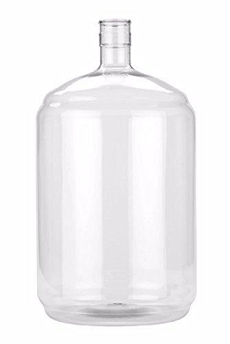 Vintage Shop B00838WKSG FBA_2611731 Plastic 5 Gallon Carboy, Clear